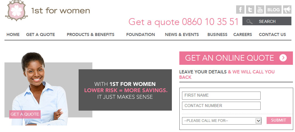 First for women personal loans